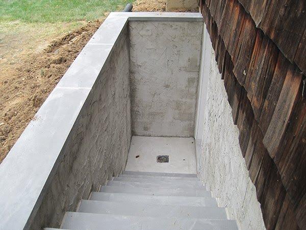 Basement entrance