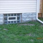 GLASS BLOCK BASEMENT WINDOW SYSTEM