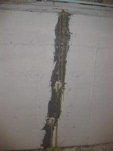 Foundation Wall Cracks   Garden City, NY   BOCCIA Inc. Waterproofing Specialists